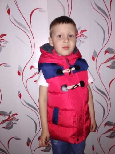 Vests Children Warm Jacket photo review