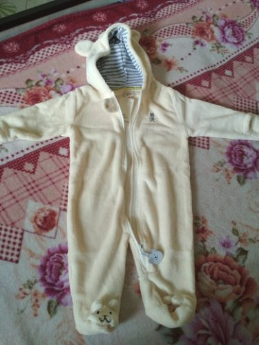 Winter Child style children's fleece overalls photo review