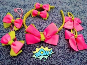 7pcs Hairband Hairpins for Hair Baby Girls photo review